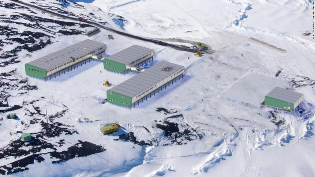 Las personas que esperan a covid-19 en la helada y oscura Antártida