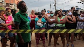 Mientras los ricos se autoaislan, los pobres en Sao Paulo no pueden permitirse confinarse