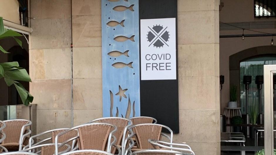 "Barcelona Terraza Fase 1 ""covid free"""