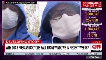 ¿Por qué tres médicos rusos se han caído de ventanas en las últimas semanas?