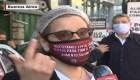Protesta de médicos en Buenos Aires