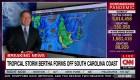 Tormenta tropical Bertha se forma frente a la costa de Carolina del Sur