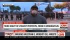 Arrestan a equipo de CNN durante la protestas por George Floyd en Minneapolis