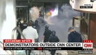 Incidentes frente a la sede de CNN Center en Atlanta