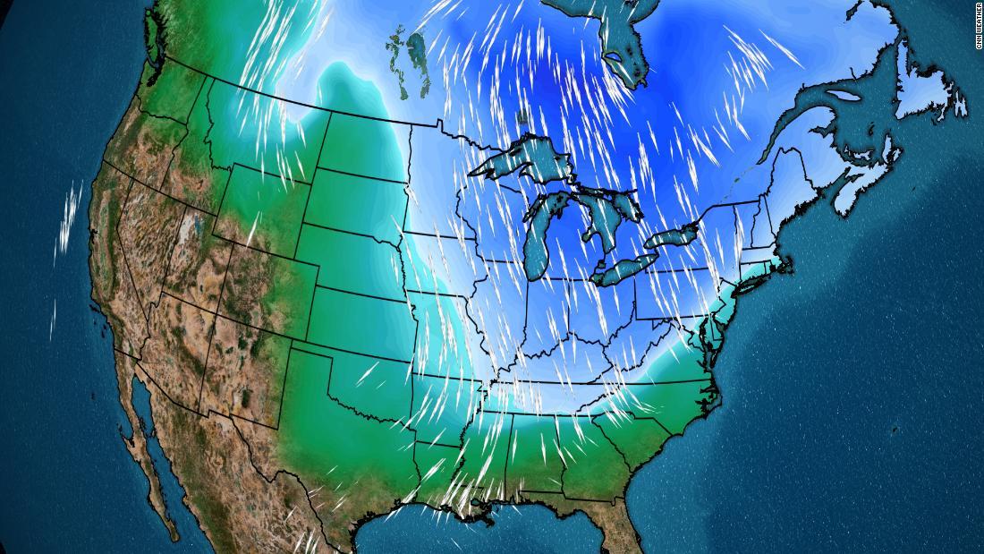 Un vórtice polar débil llevará un récord de bajas temperaturas a Estados  Unidos | CNN