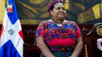 Rigoberta Menchú y sus críticas a Evo Morales