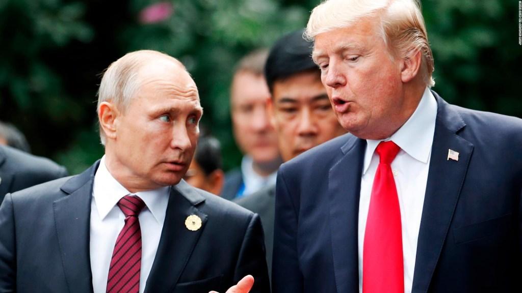 Extraña reacción de Trump al saber de un supuesto plan ruso para matar soldados de EE.UU.