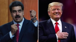 Trump no descarta reunirse con Maduro