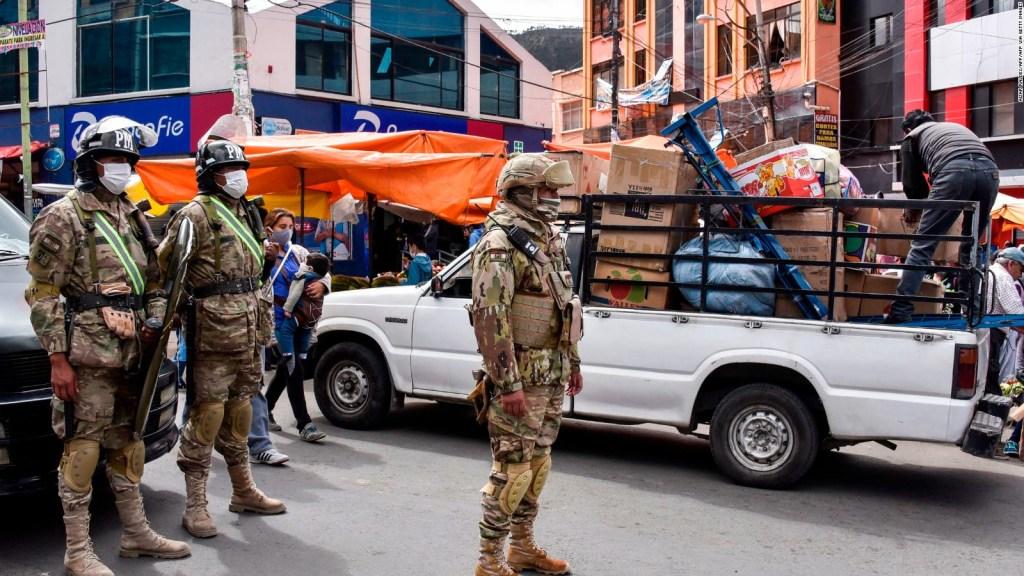 Motín en penal de Bolivia por coronavirus
