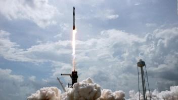 Optimismo tras el lanzamiento de Space-X