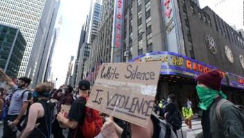 Disturbios y arrestos en las protestas en Nueva York
