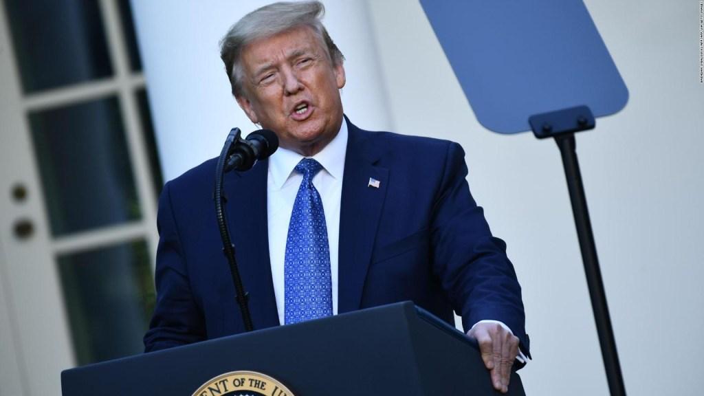Trump pide activar a la Guardia Nacional contra protestas