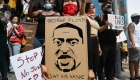 Conmemoran a George Floyd en Los Ángeles con protestas pacíficas