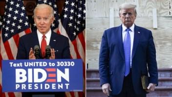 Según sondeo, Biden genera más confianza para manejo de tensiones raciales