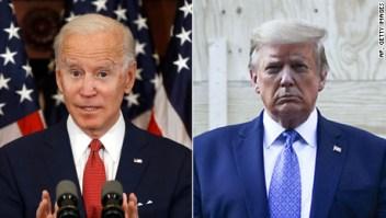 Biden sigue superando a Trump en intención de voto