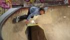 Patinadora de 11 años sufre aterradora caída