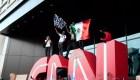 EE.UU.: ¿Qué hacía la bandera de México en las protestas?