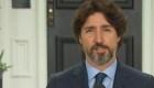 La incomodidad de Trudeau al hablar de Trump