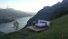Artistas instalan habitaciones al aire libre en Suiza