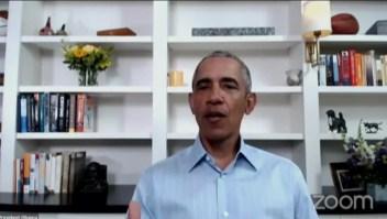 Obama pide marchar con los manifestantes por George Floyd