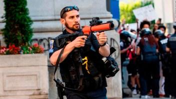Peligros de las balas de goma y otras armas menos letales
