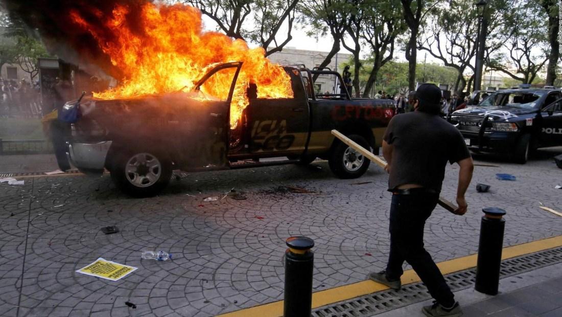 Protestas, polémica y violencia por el caso de Giovanni
