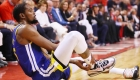 Grand centre de Kevin Durant: blessures