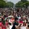 Miles marchan en Washington por la muerte de George Floyd