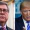 Barr no coincide con Trump en versión sobre búnker en la Casa Blanca