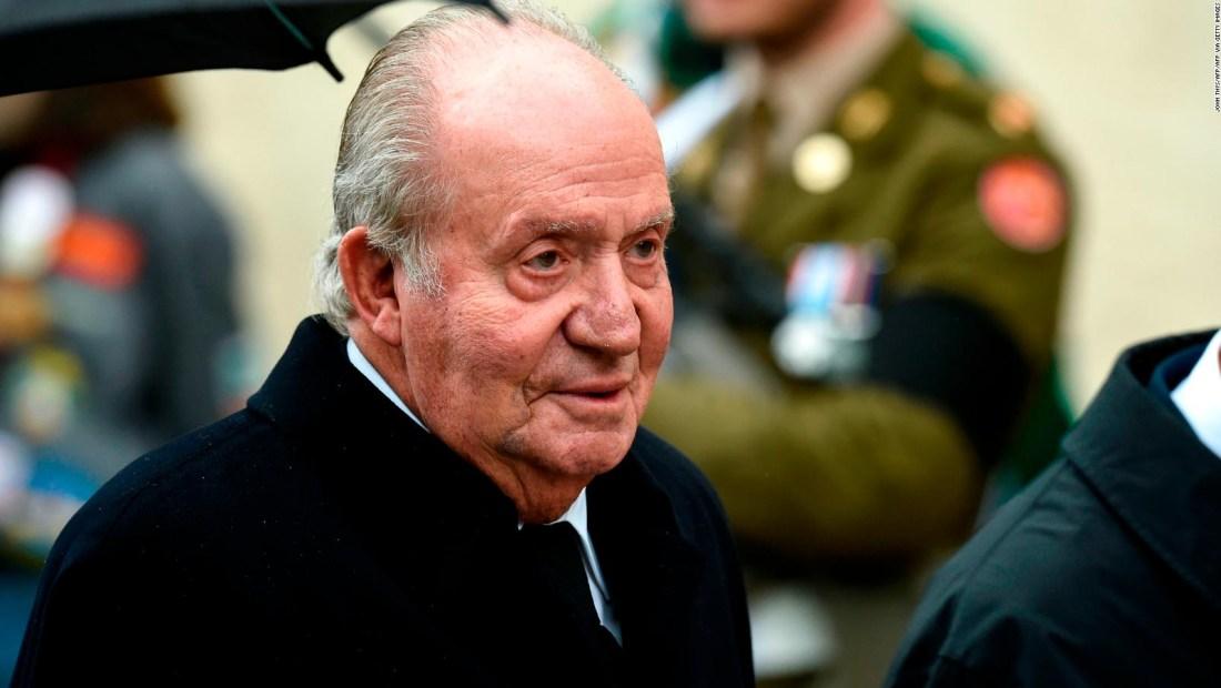 Investigan al rey emérito Juan Carlos I