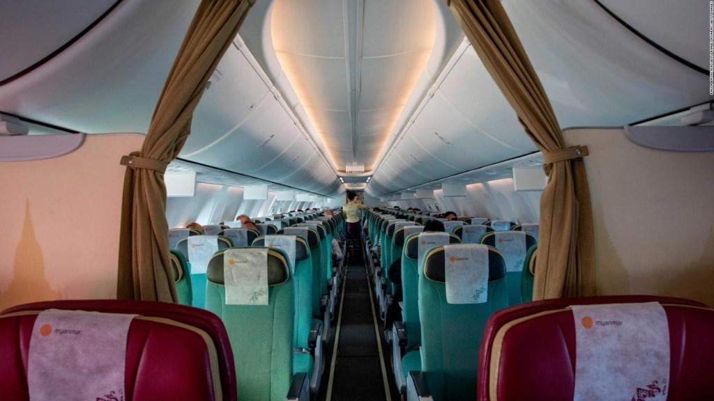 ¿Viajarían en avión en estos días?