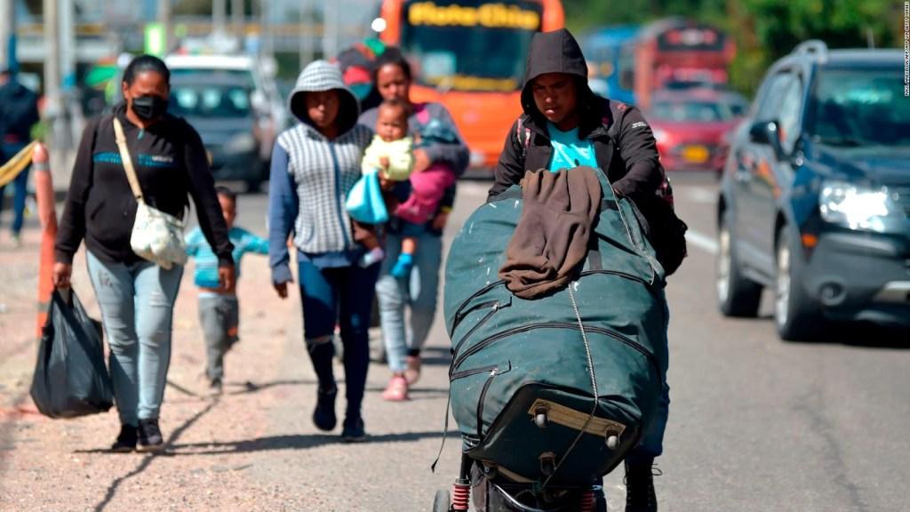 Las restricciones al regreso de migrantes venezolanos