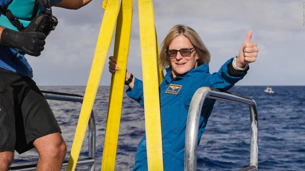 Visitó el espacio y ahora el lugar más hondo del océano