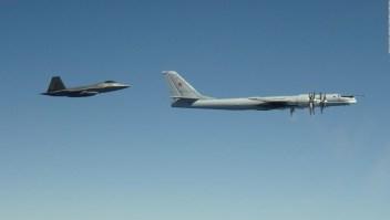 EE.UU. intercepta aviones de combate rusos frente a Alaska