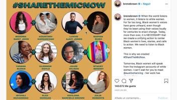#ShareTheMicNow: la campaña para magnificar a las mujeres negras