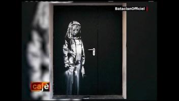 Hallan en Italia pintura robada de Banksy