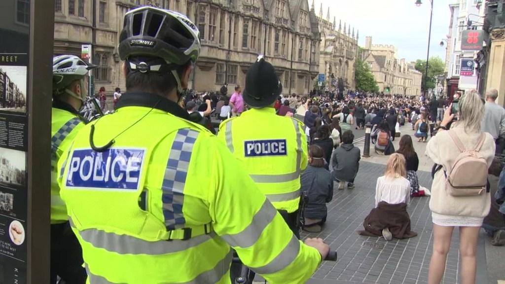 Así actúa la policía en el Reino Unido