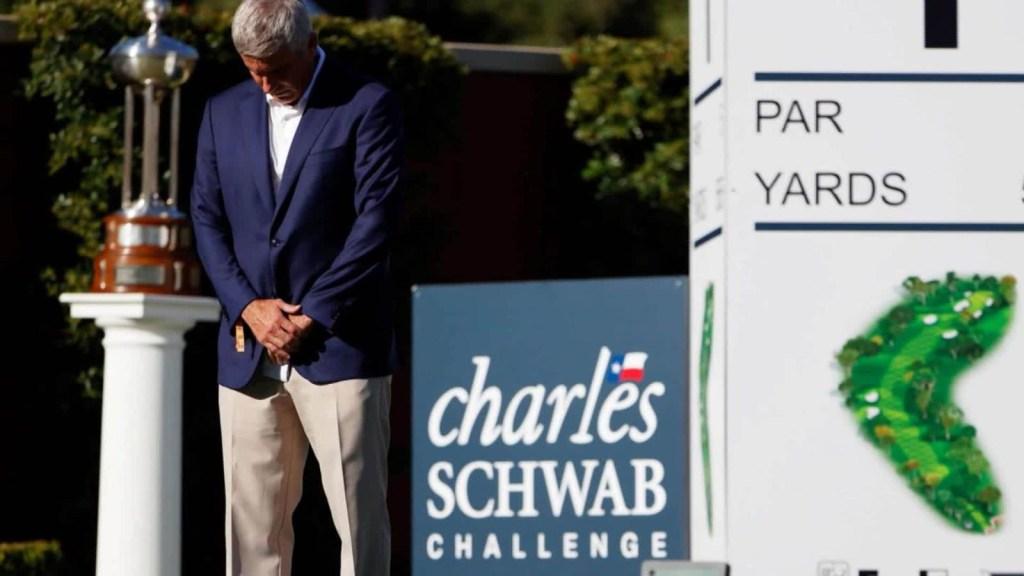 La PGA homenajea a George Floyd