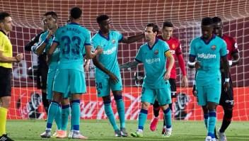 Fútbol: Barcelona regresa con triunfo y gol de Messi