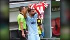 Dedicatoria de Diego Costa a futbolista operada de un tumor cerebral