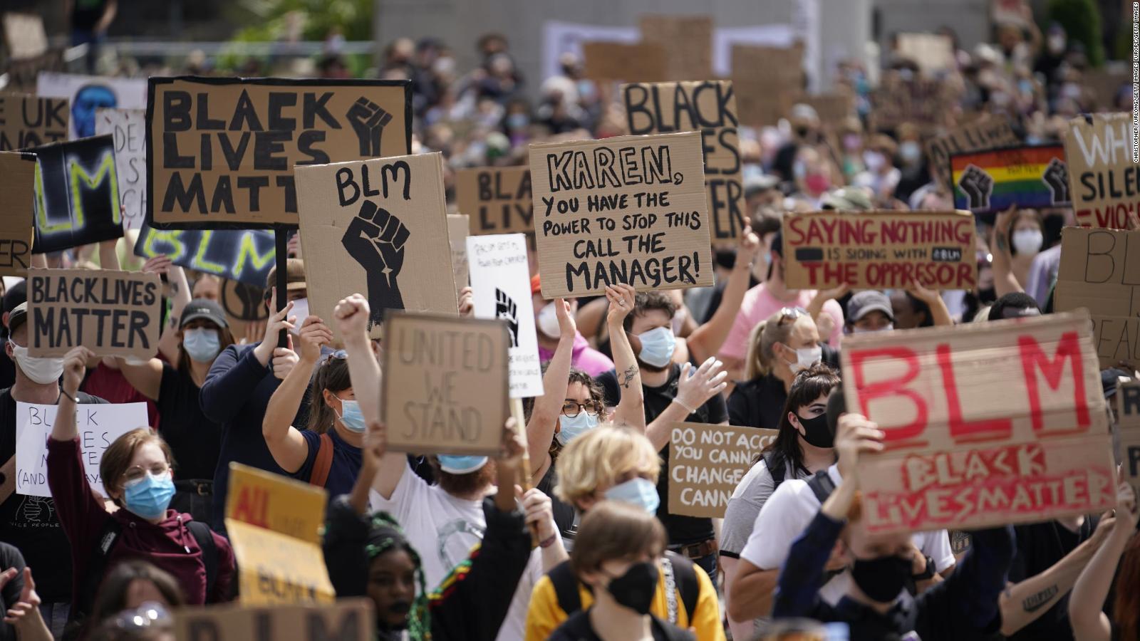 Manifestaciones a favor y en contra del movimiento Black Lives ...