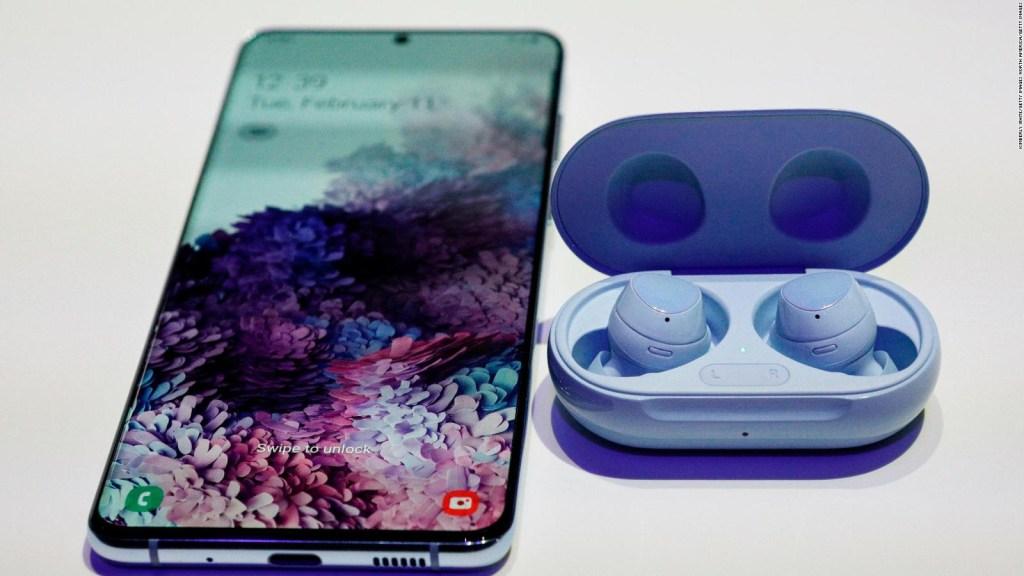 Los nuevo teléfonos de Samsung inspirados en BTS
