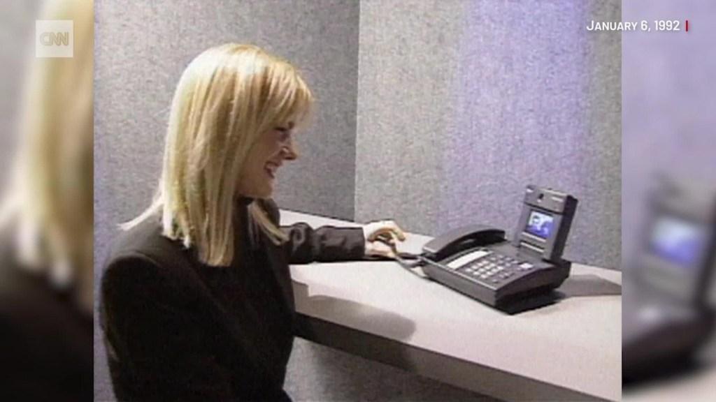 El teléfono de 1992 que hacía videollamadas