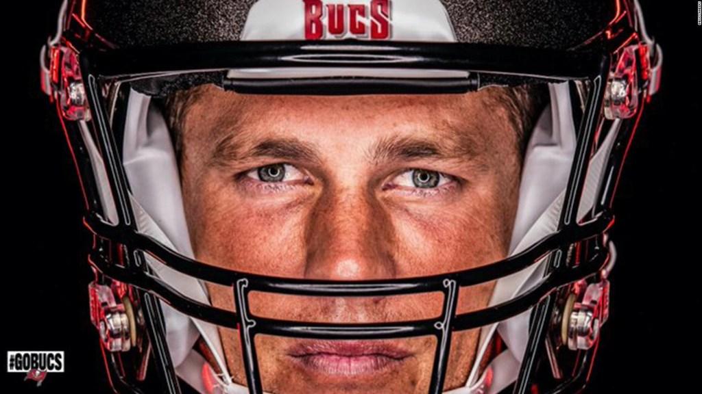 Así lució Tom Brady el uniforme de los Buccaneers