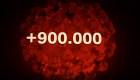 Brasil supera los 900.000 infectados por covid-19