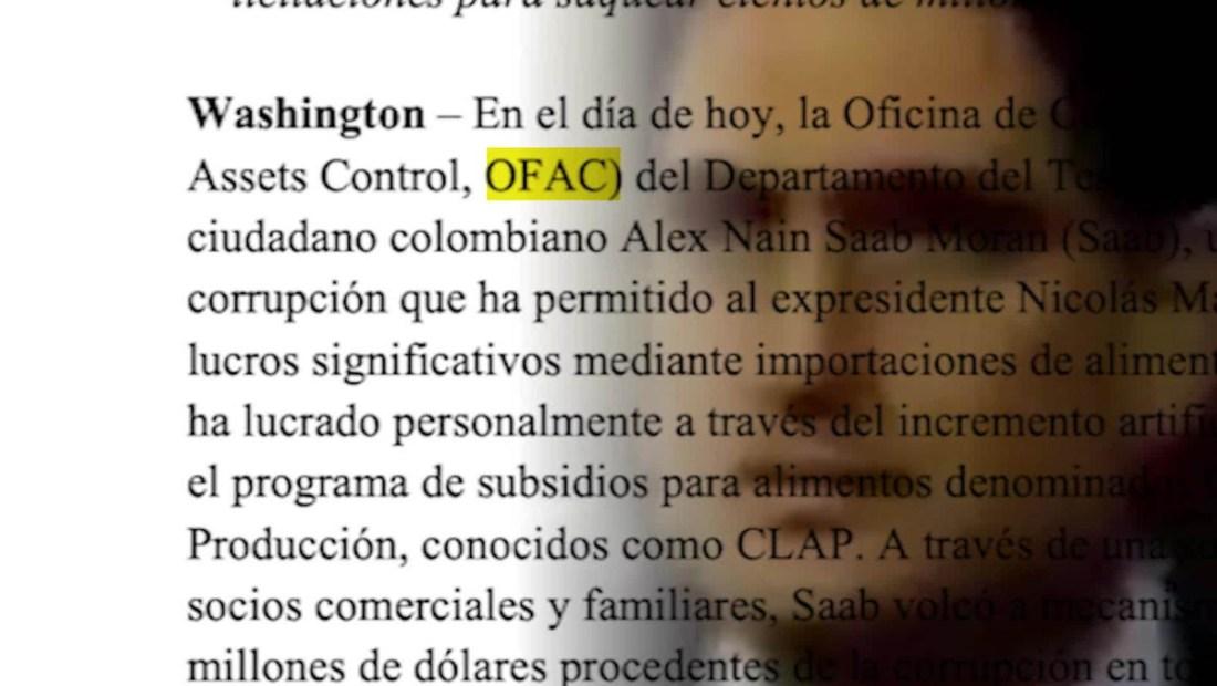De esto se acusa EE.UU. a Alex Saab