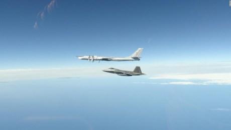 Aviones De Combate Estadounidenses Interceptan Nuevamente Aviones Militares Rusos Cerca De Alaska Cnn