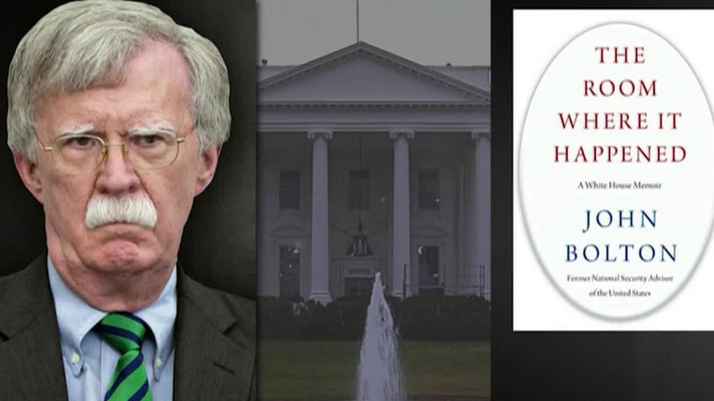 La Casa Blanca demanda a Bolton por su nuevo libro