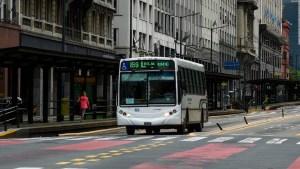 Endurecen controles en el transporte público de Buenos Aires