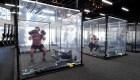 Un gimnasio se reinventa en la lucha contra el covid-19